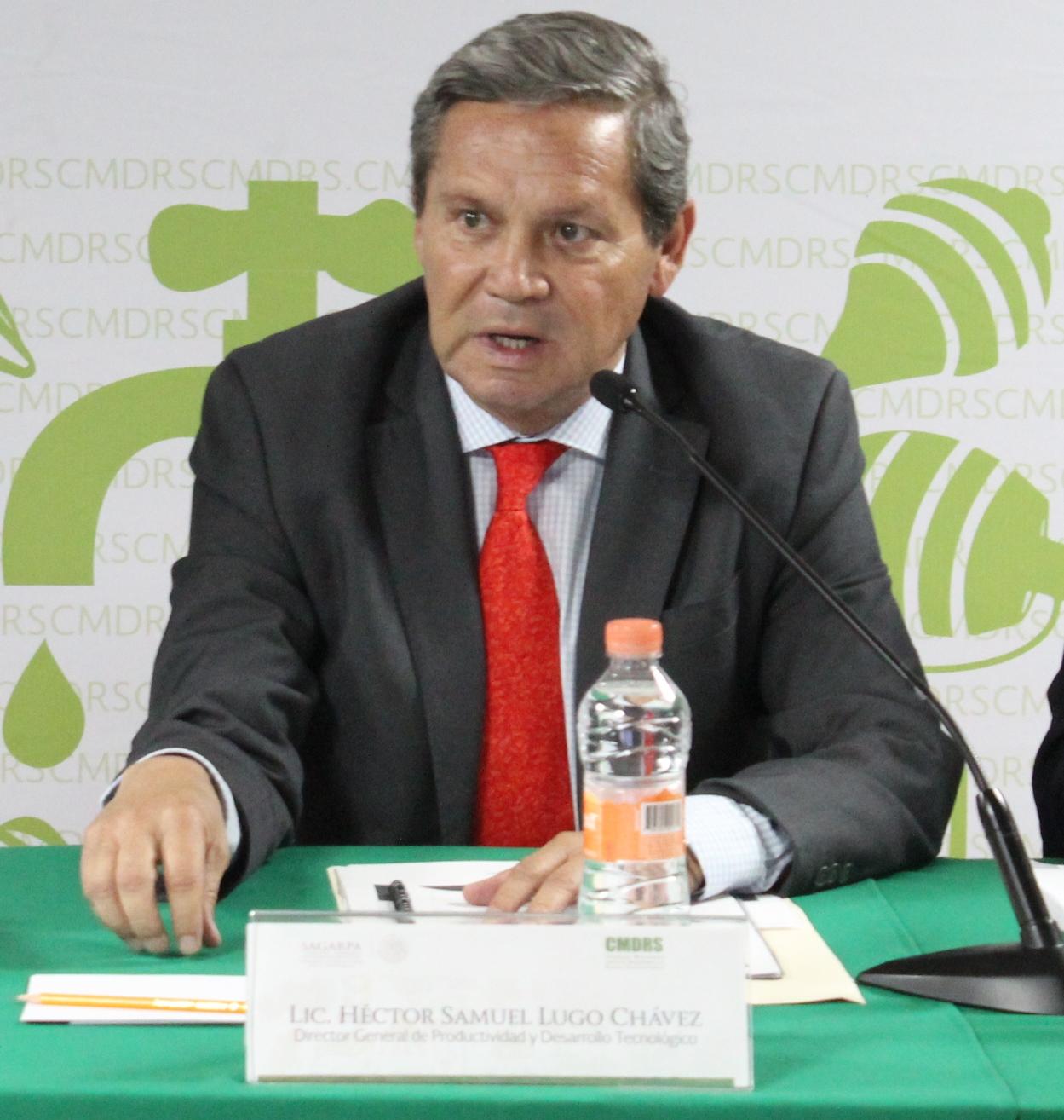 Director General de Productividad y Desarrollo Tecnológico, SAGARPA