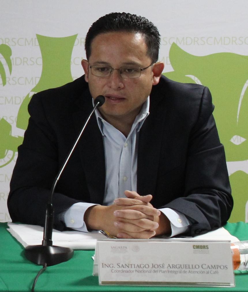 Coordinador Nacional del Plan Integral de Atención al Café, SAGARPA